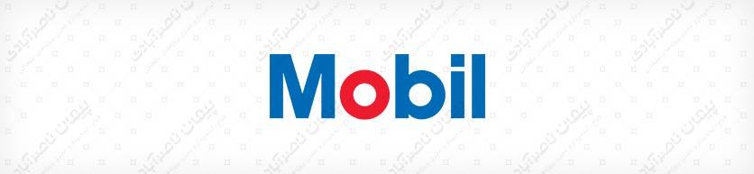Mobil company logo