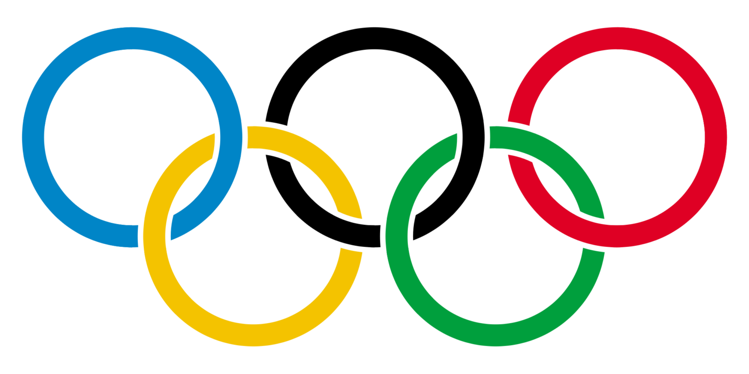 The logo of the International Olympic Committee, which is also the logo of the Olympic Games